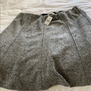 Grey speckled skirt